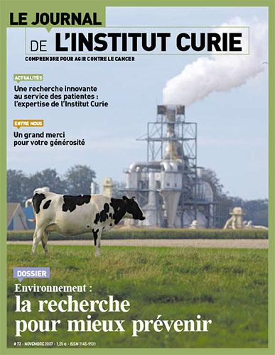 Le Journal de l'Institut Curie - n°72 - Novembre 2007