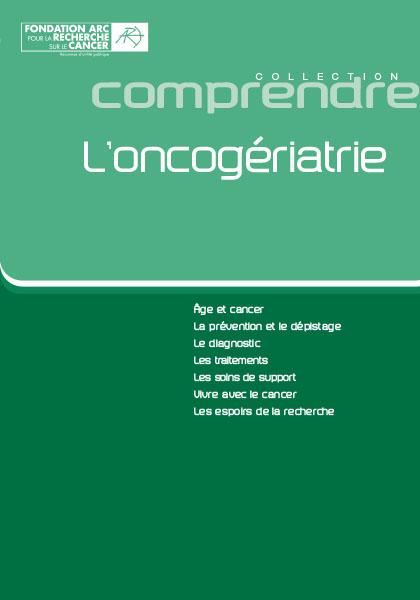 Brochure Oncogériatrie